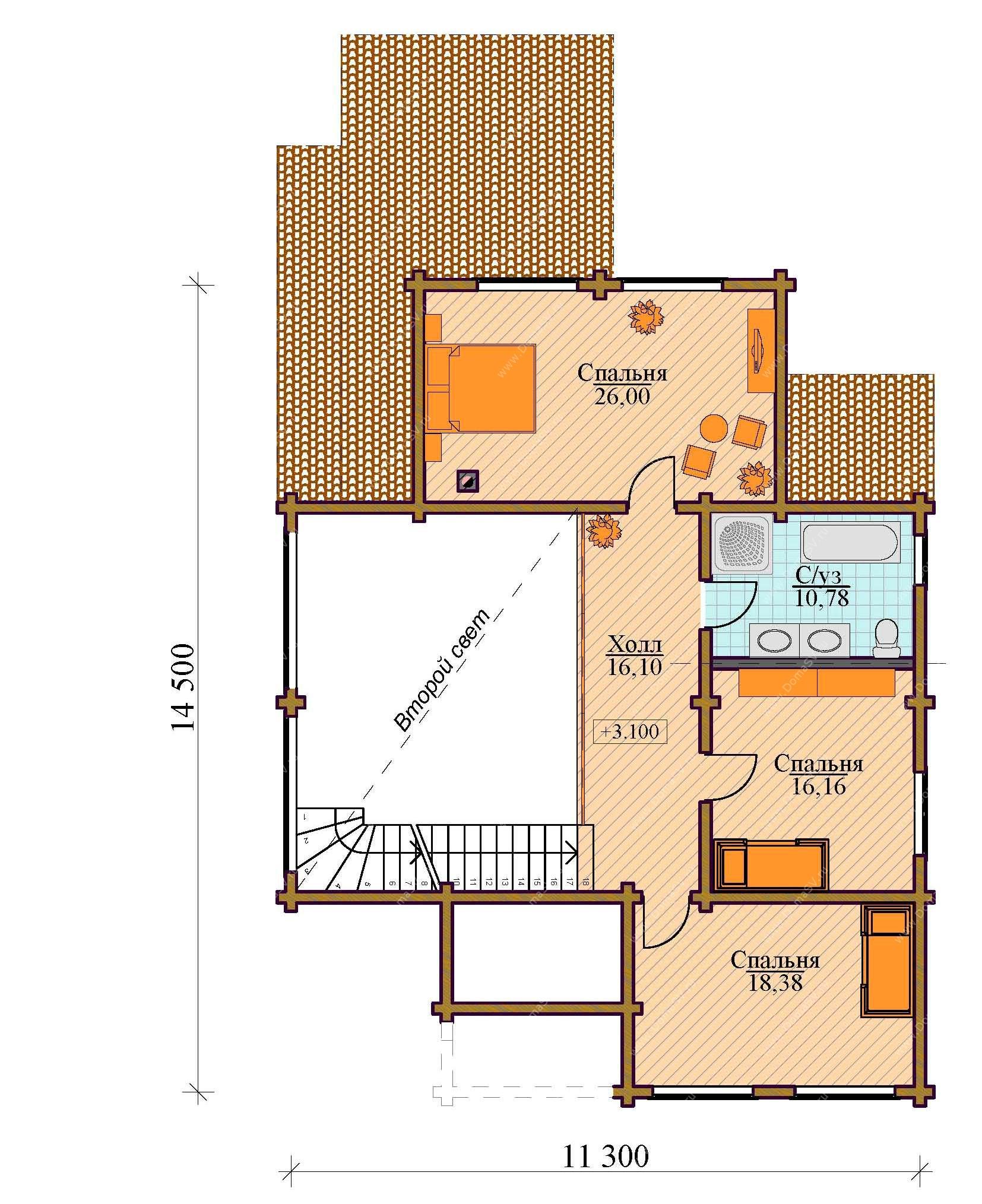 горячие планировки домов с двойным светом силой