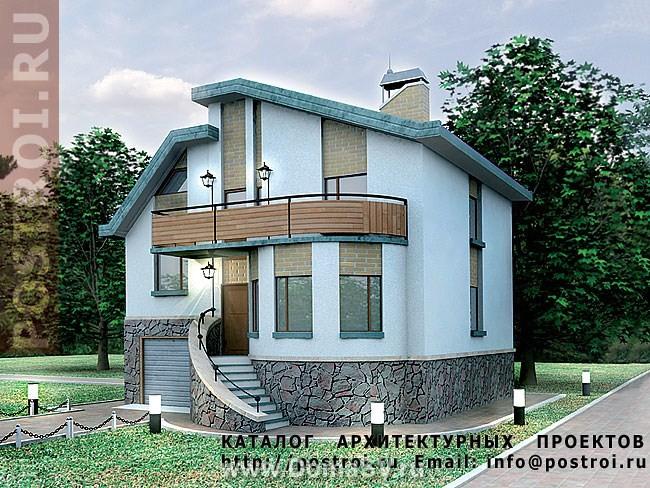Купить проекты домов из пеноблоков 6х8 по выгодным ценам