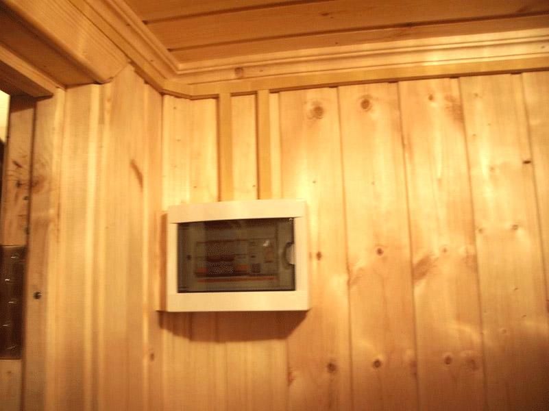 прокладка электропроводки в деревянном доме - Всякое разное.