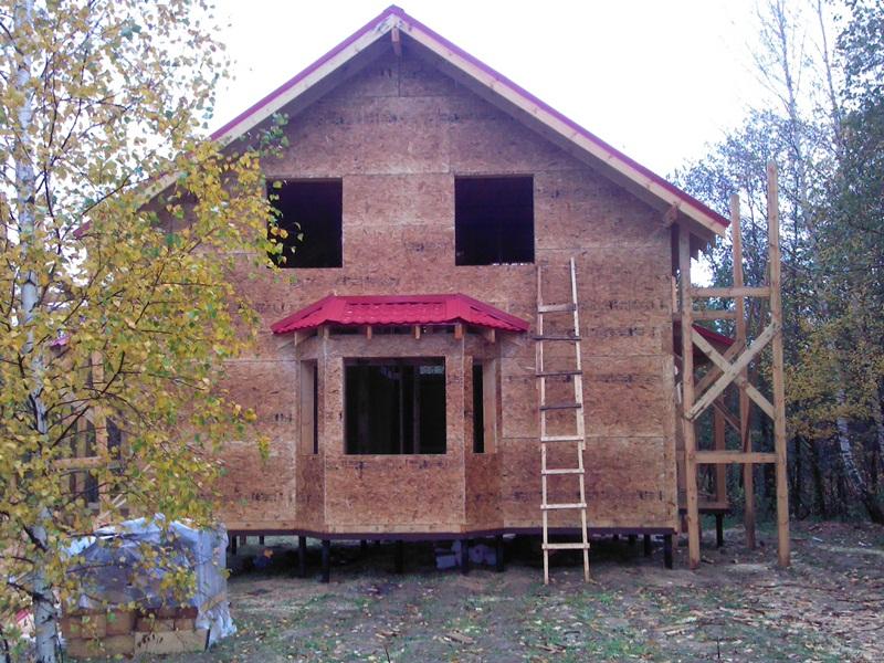 о строительстве каркасного дома в